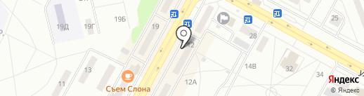 Магазин косметики и парфюмерии на карте Братска