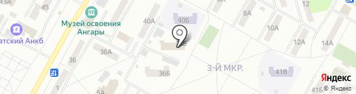 МегаДом Братск на карте Братска