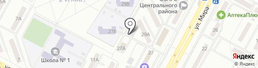 Бухгалтерская компания на карте Братска