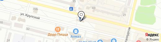 Flor2u.ru на карте Братска