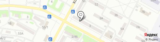 Адвокатский кабинет Зудовой Г.И. на карте Братска