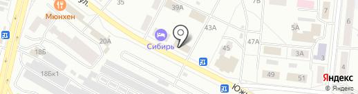 Мировые судьи Братского района на карте Братска