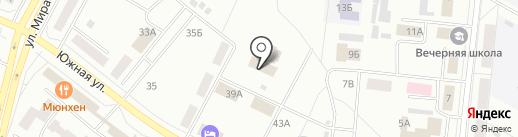 Русская тройка на карте Братска