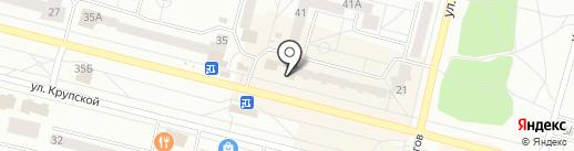 Фигаро на карте Братска