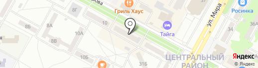 Пассаж на карте Братска