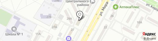 ВСК на карте Братска