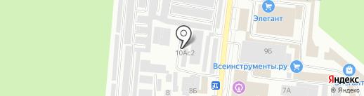 Ночной Экспресс на карте Братска