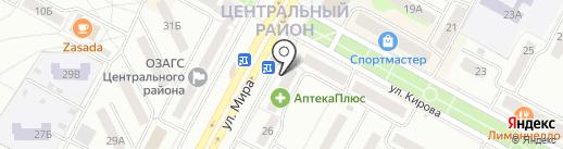 Юридическо-риэлторское агентство на карте Братска