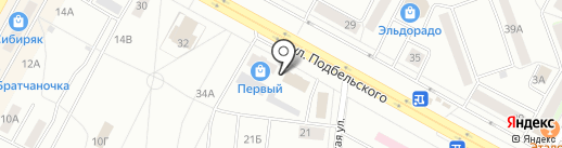 Дон Япон на карте Братска