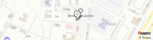 СибСпецЗапчасть на карте Братска