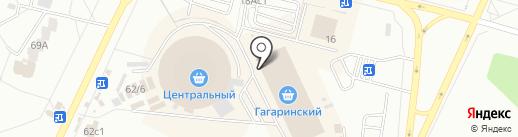 Салон верхней одежды на карте Братска