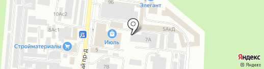 КИТ на карте Братска