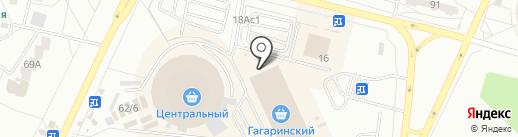 Мебельный двор на карте Братска