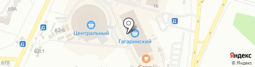 Кутюр на карте Братска