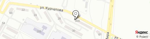 Магазин-мастерская на карте Братска