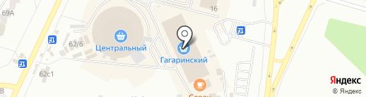 Кантри на карте Братска