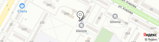 Объединенная детская школа искусств №3 на карте Братска