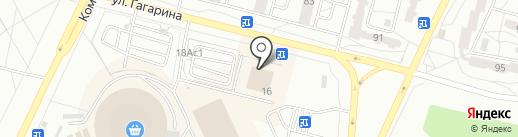 LiA на карте Братска