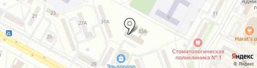 Центр развития образования, МАУ на карте Братска