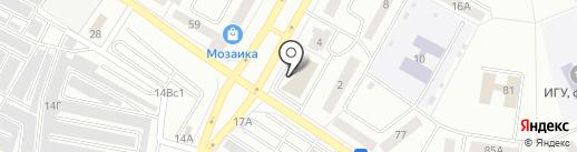 Банкомат, Братский акционерный народный коммерческий банк, ПАО на карте Братска