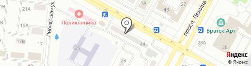 ТЕХНОTRADE на карте Братска