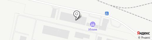 Илин на карте Братска