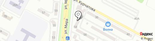 Вишня на карте Братска