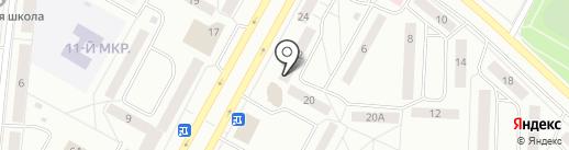 Центр бесплатных юридических консультаций на карте Братска