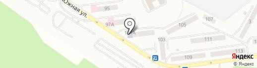 Библиотека №2 на карте Братска