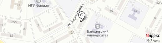ЭМИЛИ на карте Братска