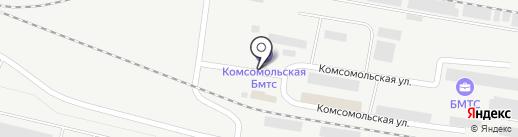Ангарский орс на карте Братска