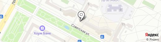 Виктория на карте Братска