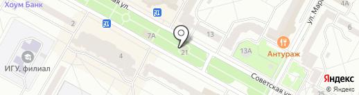 Банкомат, Банк ВТБ 24, ПАО на карте Братска