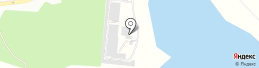 БАМ на карте Братска