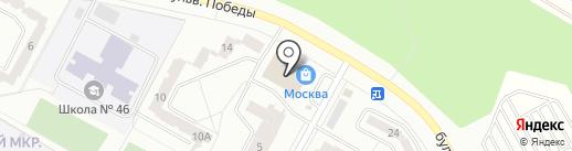 Аптечный пункт на карте Братска