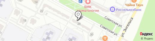 Хороший слух на карте Братска