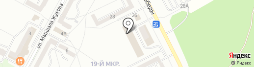 Клубный Квартал, ЖСК на карте Братска