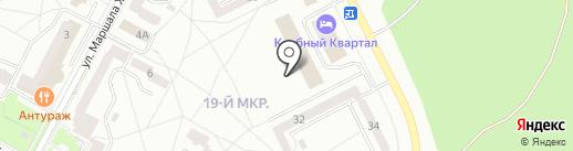 СОТКом на карте Братска