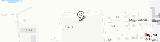 Ангара на карте Братска