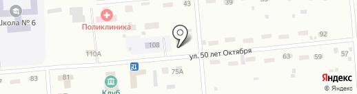 Арина на карте Братска