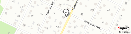 Новострой на карте Братска