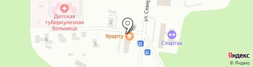 Урарту на карте Братска