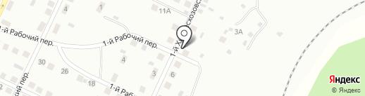 Компания по производству полуфабрикатов на карте Братска