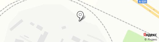 Сальгари на карте Братска