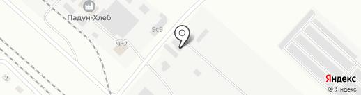 Атлант-М на карте Братска