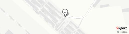 Штурвал на карте Братска