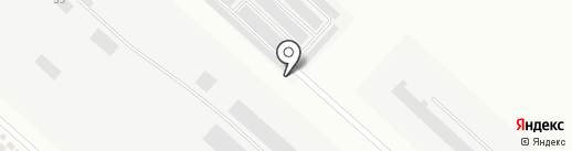 Пурсей на карте Братска
