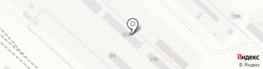 АльТ на карте Братска