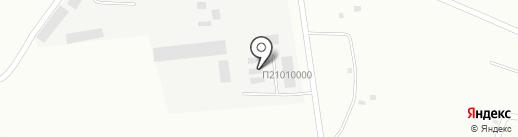 Северный Массив на карте Братска