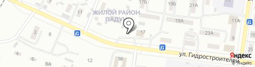 Магазин по продаже овощей и фруктов на карте Братска